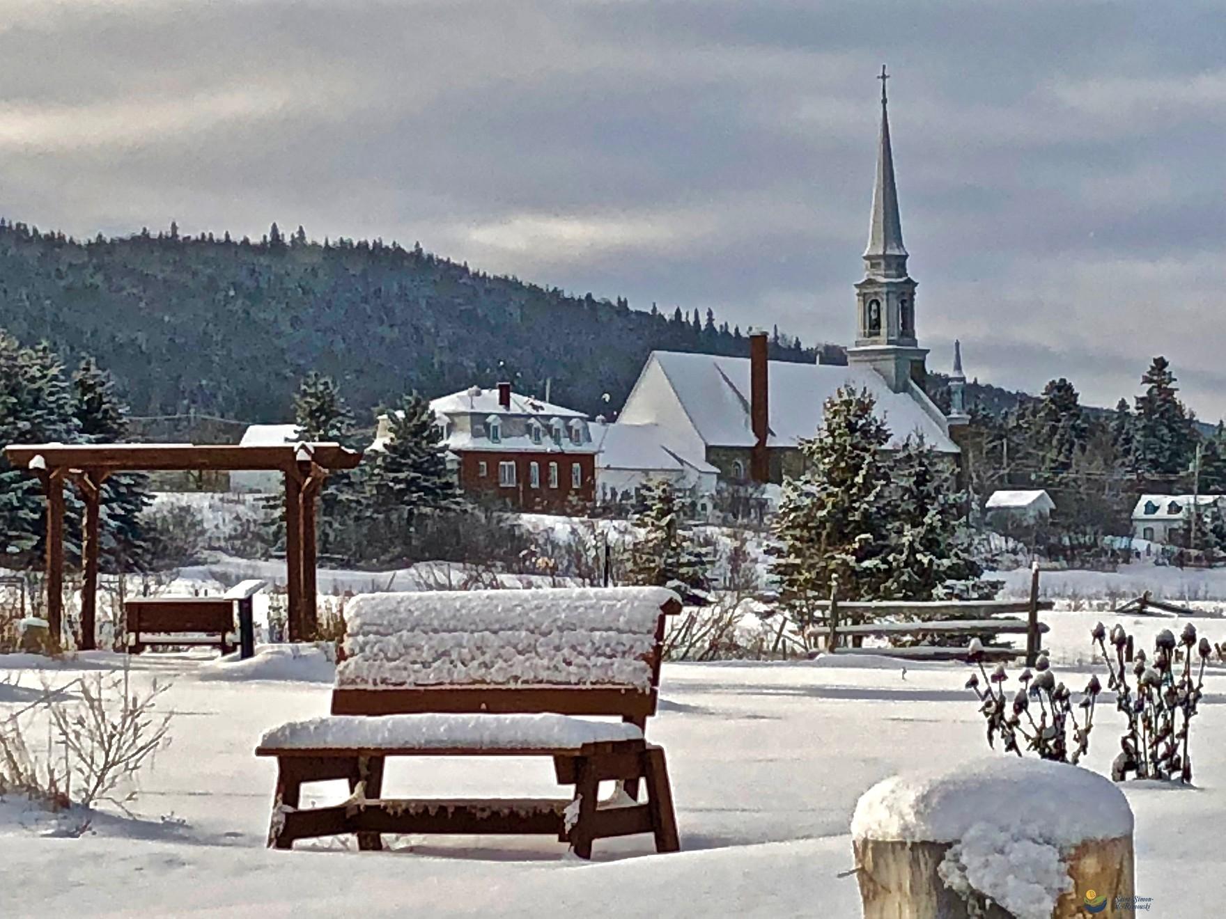 Église en hiver (Photo : © Photo : Yan Roy)