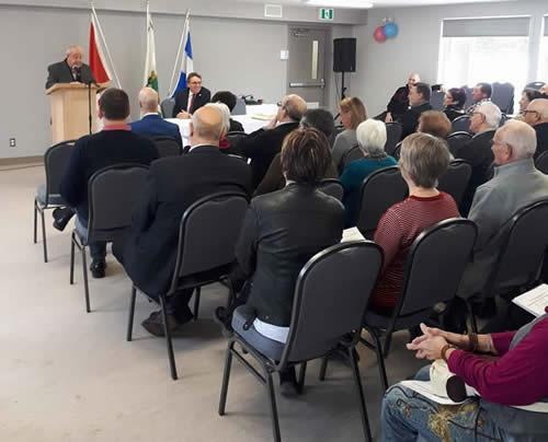Le gouvernement du Québec est fier d'avoir contribué à la conversion du chalet des loisirs de Saint-Simon-de-Rimouski en un centre communautaire.